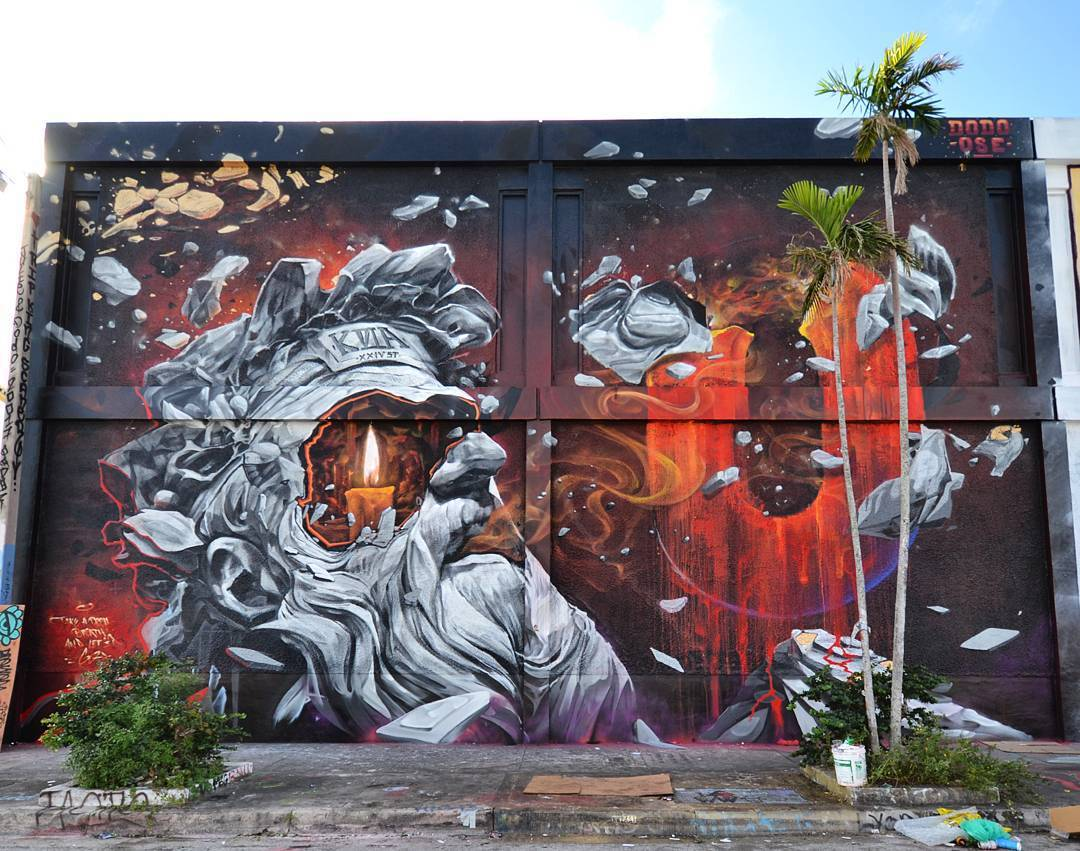 Dodo Ose in Wynwood, Miami